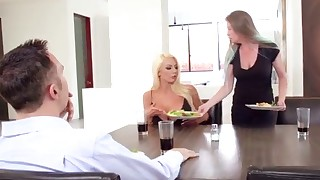 Big-boobed brazzers mom fucked from behind