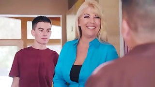 Good-looking brazzers blonde and her bf